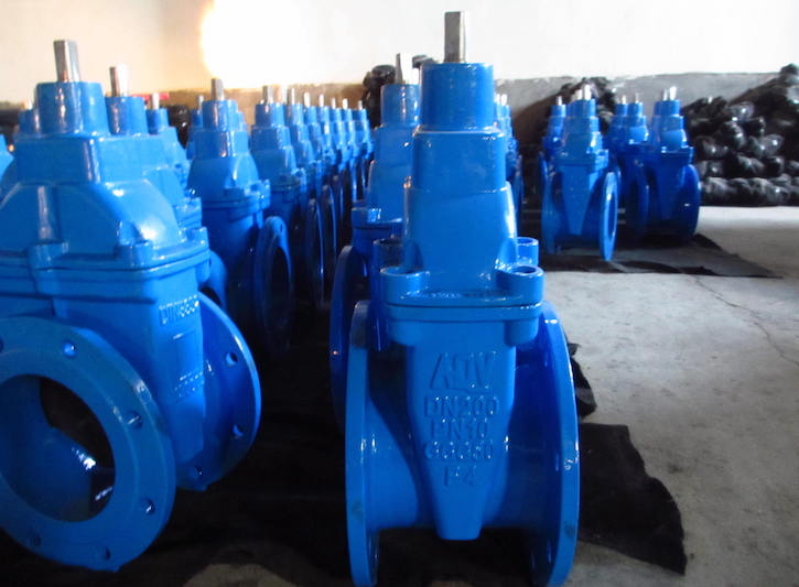AQV RUBBER WEDGE GATE VALVE