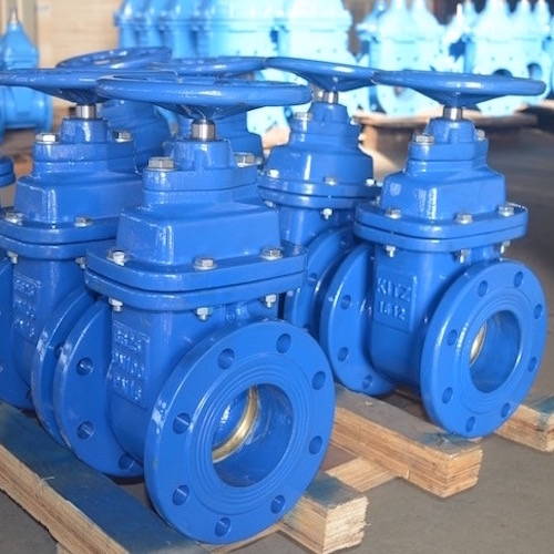 DIN F4/F5 Metal seated Gate Valve